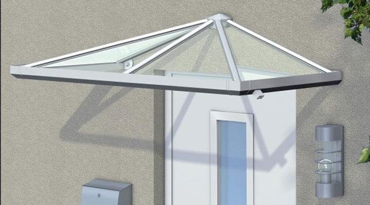 haust ren mit aluminium vordach metallbau hunold olpe siegen. Black Bedroom Furniture Sets. Home Design Ideas